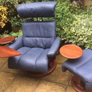 EKORNESS-STRESSLESS-MODERN-LARGE-ARMCHAIR-MATCHING-STOOL-DELIVERY-AVAILABLE-291956163589