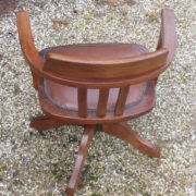 FINE-ANTIQUE-OFFICE-SWIVEL-CAPTAIN-S-CHAIR-VERY-CLEAN-DELIVERY-AVAILABLE-291752773755-10
