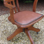 FINE-ANTIQUE-OFFICE-SWIVEL-CAPTAIN-S-CHAIR-VERY-CLEAN-DELIVERY-AVAILABLE-291752773755-9