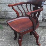 FINE-ANTIQUE-OFFICE-SWIVEL-CAPTAINS-CHAIR-VERY-CLEANCONDITION-DELIVERY-AVAILABLE-291752786951-10