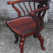 FINE-ANTIQUE-OFFICE-SWIVEL-CAPTAINS-CHAIR-VERY-CLEANCONDITION-DELIVERY-AVAILABLE-291752786951-8