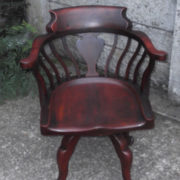 FINE-ANTIQUE-OFFICE-SWIVEL-CAPTAINS-CHAIR-VERY-CLEANCONDITION-DELIVERY-AVAILABLE-291752786951-9
