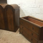 FINE-ART-DECO-FRENCH-STYLE-2-DOOR-DOME-WARDROBE-2-MAN-DELIVERY-AVAILABLE-302210446586-11