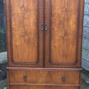 FINE-ART-DECO-FRENCH-STYLE-2-DOOR-DOME-WARDROBE-2-MAN-DELIVERY-AVAILABLE-302210446586