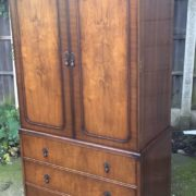 FINE-ART-DECO-FRENCH-STYLE-2-DOOR-DOME-WARDROBE-2-MAN-DELIVERY-AVAILABLE-302210446586-2