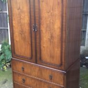 FINE-ART-DECO-FRENCH-STYLE-2-DOOR-DOME-WARDROBE-2-MAN-DELIVERY-AVAILABLE-302210446586-3