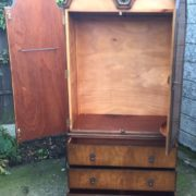 FINE-ART-DECO-FRENCH-STYLE-2-DOOR-DOME-WARDROBE-2-MAN-DELIVERY-AVAILABLE-302210446586-5