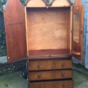 FINE-ART-DECO-FRENCH-STYLE-2-DOOR-DOME-WARDROBE-2-MAN-DELIVERY-AVAILABLE-302210446586-8