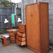 FINE-ART-DECO-OAK-4-PIECE-BEDROOM-SUITE-CLEAN-CONDITION-2-MAN-DELIVERY-292072723050-6