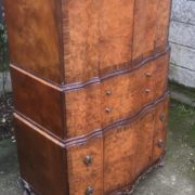 FINE-ART-DECO-WALNUT-TALLBOY-CABINETCHEST-LOTS-OF-STORAGE-DELIVERY-AVAILABLE-292083796206-10