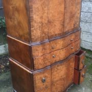 FINE-ART-DECO-WALNUT-TALLBOY-CABINETCHEST-LOTS-OF-STORAGE-DELIVERY-AVAILABLE-292083796206-8