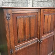 FINE-ARTS-CRAFTS-2-DOOR-OAK-HALL-WARDROBE-2-MAN-DELIVERY-AVAILABLE-292072723053-3