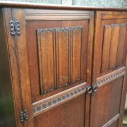 FINE-ARTS-CRAFTS-2-DOOR-OAK-HALL-WARDROBE-2-MAN-DELIVERY-AVAILABLE-292072723053-4