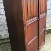 FINE-ARTS-CRAFTS-2-DOOR-OAK-HALL-WARDROBE-2-MAN-DELIVERY-AVAILABLE-292072723053-6
