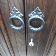 FINE-ARTS-CRAFTS-2-DOOR-OAK-HALL-WARDROBE-2-MAN-DELIVERY-AVAILABLE-292085605899-4