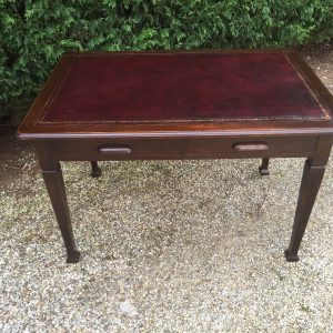 FINE-ARTS-CRAFTS-OAK-LIBRARY-WRITING-TABLEDESK-VERY-CLEAN-2-MAN-DELIVERY-292087378862