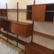 FINE-LARGE-TEAK-DANISH-CADO-FLOATING-SHELVINGDISPLAY-STAND-UP-TO-4-BAYS-302263180632-8