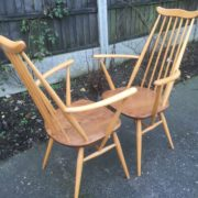 FINE-PAIR-OF-ERCOL-GOLDSMITH-ARMCHAIRS-VERY-CLEAN-CONDITION-CHEAP-DELIVERY-292072723614-10