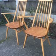 FINE-PAIR-OF-ERCOL-GOLDSMITH-ARMCHAIRS-VERY-CLEAN-CONDITION-CHEAP-DELIVERY-292072723614-2