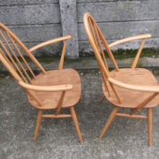 FINE-PAIR-OF-ERCOL-QUAKER-ARMCHAIRS-VERY-CLEAN-CONDITION-DELIVERY-AVAILABLE-292072723052-7
