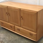 FINE-RETRO-ERCOL-SIDEBOARD-VERY-CLEAN-CONDITION-2-MAN-DELIVERY-291982875127-7