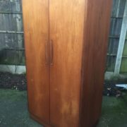 FINE-RETRO-TEAK-G-PLAN-2-DOOR-FITTED-WARDROBE-CLEAN-CONDITION-DELIVERY-AVAILABLE-302263524949-10