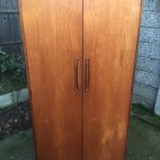 FINE-RETRO-TEAK-G-PLAN-2-DOOR-FITTED-WARDROBE-CLEAN-CONDITION-DELIVERY-AVAILABLE-302263524949-3