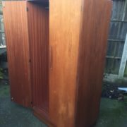 FINE-RETRO-TEAK-G-PLAN-2-DOOR-FITTED-WARDROBE-CLEAN-CONDITION-DELIVERY-AVAILABLE-302263524949-9