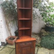 FINE-TALL-OLD-CHARM-SLIM-CORNER-CABINET-DELIVERY-SERVICE-AVAILABLE-302284325615-3