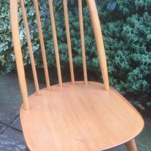 GOOD-RETRO-ERCOL-QUAKER-DINING-CHAIR-CLEAN-CONDITION-CHEAP-DELIVERY-292067481346