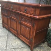 LARGE-OAK-OLD-CHARM-3-DOOR-HERTFORD-SIDEBOARD-CLEAN-CONDITION-2-MAN-DELIVERY-302263267000-10