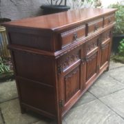 LARGE-OAK-OLD-CHARM-3-DOOR-HERTFORD-SIDEBOARD-CLEAN-CONDITION-2-MAN-DELIVERY-302263267000-8