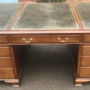 SUPERB-LARGE-VINTAGE-OAK-PARTNERS-DESK-FAB-CONDITION-2-MAN-DELIVERY-AVAILABLE-302263525627-5