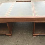 SUPERB-LARGE-VINTAGE-OAK-PARTNERS-DESK-FAB-CONDITION-2-MAN-DELIVERY-AVAILABLE-302263525627-8
