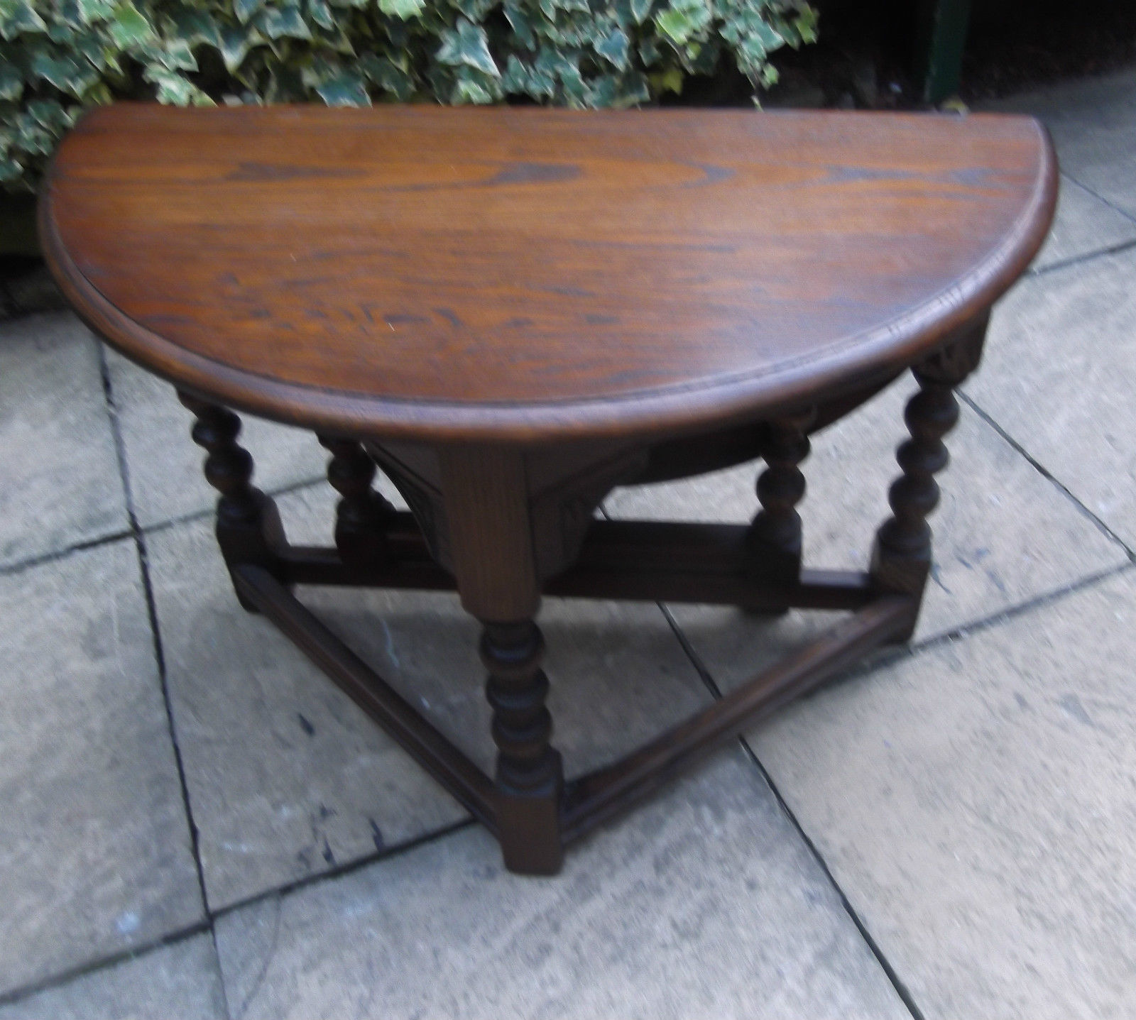 SUPERB MODERN OLD CHARM DROP LEAF COFFEE TABLE VERY CLEAN