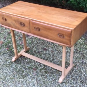 SUPERB-RETRO-ERCOL-CONSOLE-WRITING-DINING-TABLE-FAB-CONDITION-WE-DELIVER-302277291374