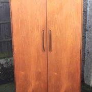 SUPERB-RETRO-TEAK-G-PLAN-2-DOOR-WARDROBE-CLEAN-CONDITION-MATCHING-ROBE-LISTED-302264069875-10