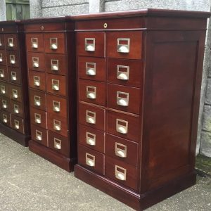 SUPERB-SET-OF-3-BANKERS-HABERDASHERY-FILING-CABINET-DRAWERS-2-MAN-DELIVERY-291853047507