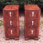 VERY-RARE-PAIR-OF-ART-DECO-WALNUT-BEDSIDE-CABINETSCHESTS-VERY-CLEAN-SELDOM-SEEN-301945194702-10