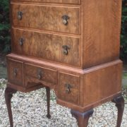 VERY-RARE-TALL-ART-DECO-WALNUT-CHEST-OF-DRAWERS-VERY-CLEAN-SELDOM-SEEN-292077388064