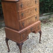 VERY-RARE-TALL-ART-DECO-WALNUT-CHEST-OF-DRAWERS-VERY-CLEAN-SELDOM-SEEN-292077388064-2