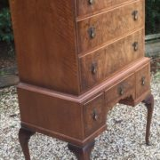 VERY-RARE-TALL-ART-DECO-WALNUT-CHEST-OF-DRAWERS-VERY-CLEAN-SELDOM-SEEN-292077388064-3
